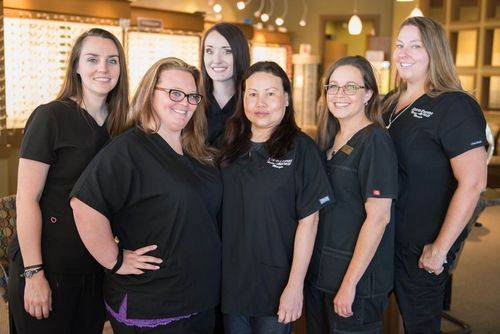 Opticians - Mary, Courtney, Jaclyn, April, Monica, Nikki